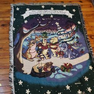Disney Winnie the Pooh and friends blanket